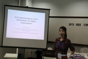 Sharing session by Dr Ming Ming on her award winning research.
